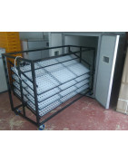 commercial trolley incubator